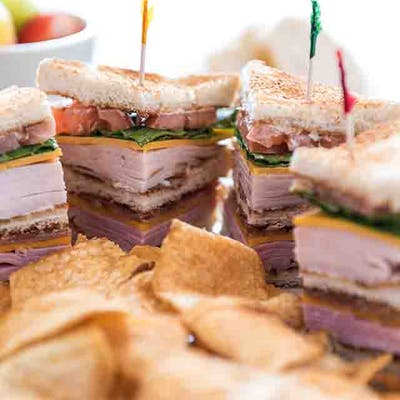 Turkey & Ham Club Sandwich