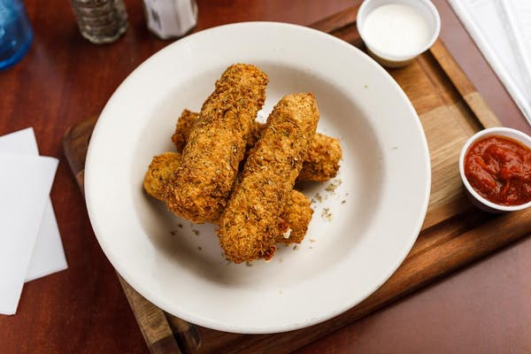 Fried Cheese Logs
