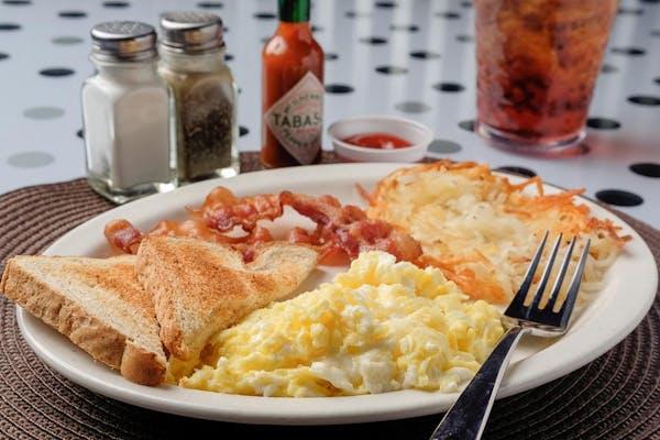 Three-Egg Breakfast
