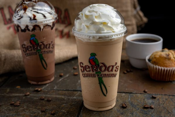 Flavored Frozen Cappuccino