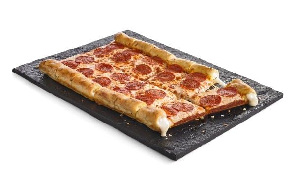 Pepperoni Stuffed Crust Pizza
