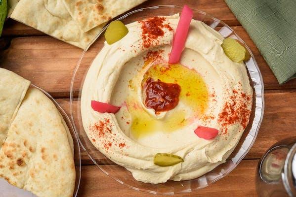 1. Hummus Plate