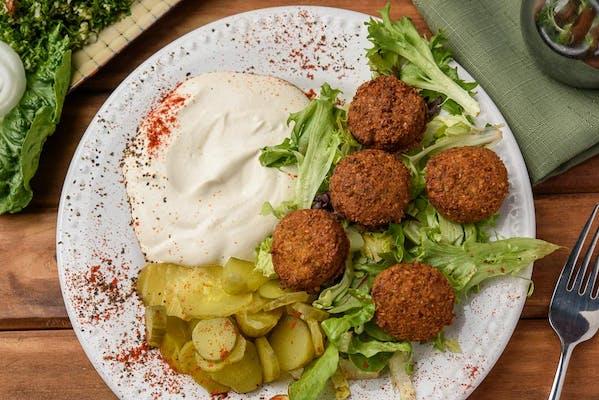 2. Falafel Plate