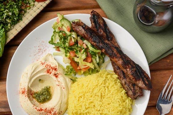 5. Kafta Kebab Plate