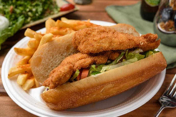 20. Schnitzel Sandwich