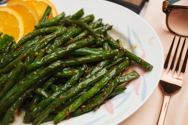 Green Beans with Chopped Dry Shrimp