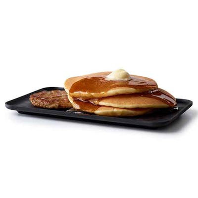 Hotcakes with Sausage