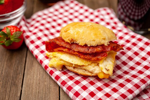 Bacon, Egg & Cheese Sandwich