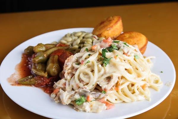 Chicken Spaghetti Daily Special