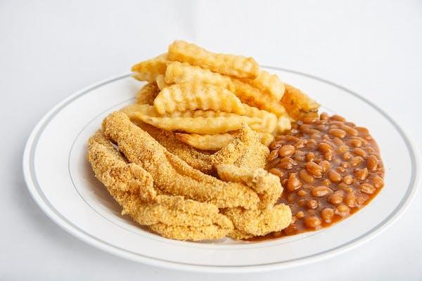 Fried Catfish Dinner