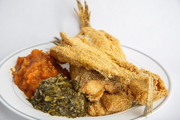 Fried Pantrout Dinner
