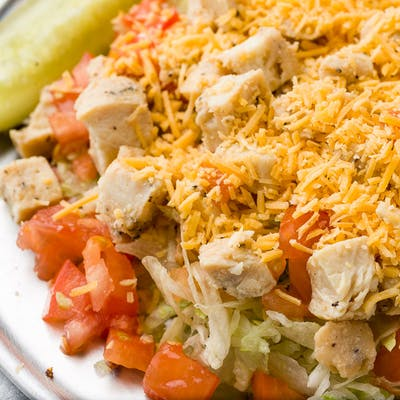 Chicken Fry Salad