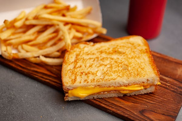 Kid's Grilled Cheese Sandwich
