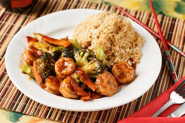 L23. Shrimp with Broccoli