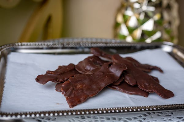 Milk Chocolate-Covered Bacon