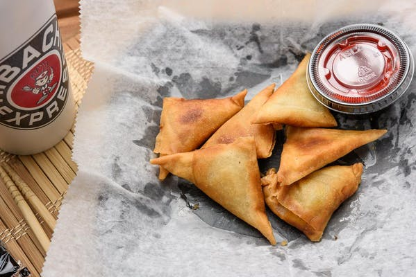Curry Vegetable Samosas