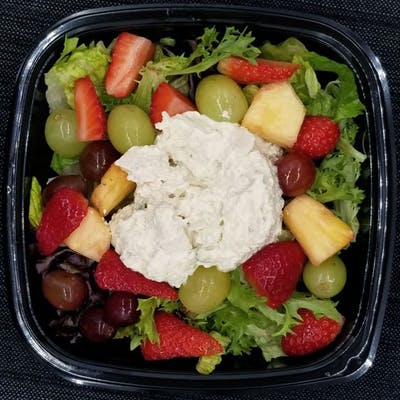 White-Meat Chicken Salad with Fruit