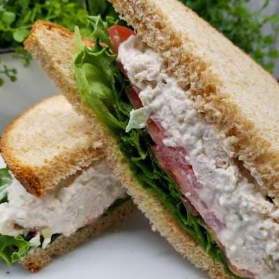 White-Meat Chicken Salad Sandwich