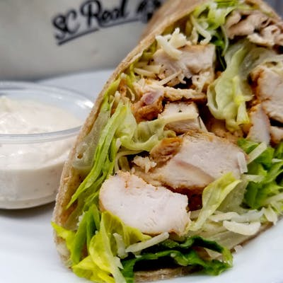 Chicken Caesar Half-Wrap