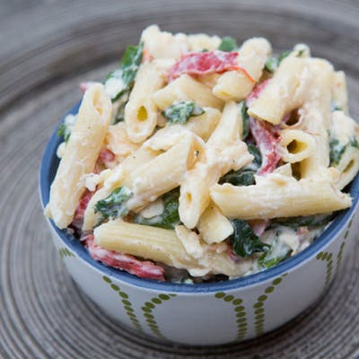 Smoked Gouda Pasta Salad