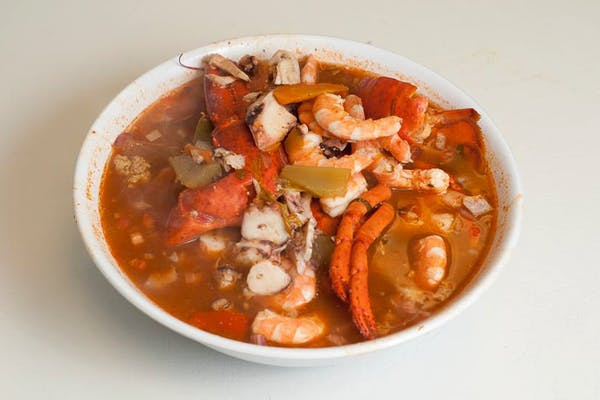Lobster, Shrimp & Octopus Soup