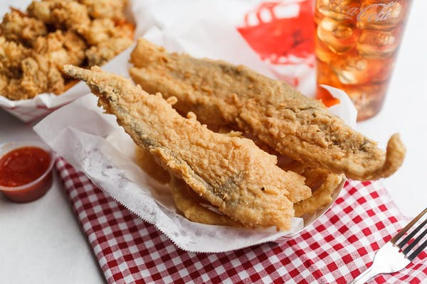 Fried Whiting Fillet Basket