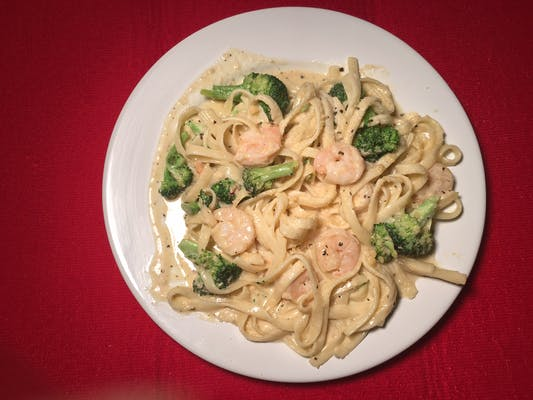 Broccoli & Shrimp Pasta
