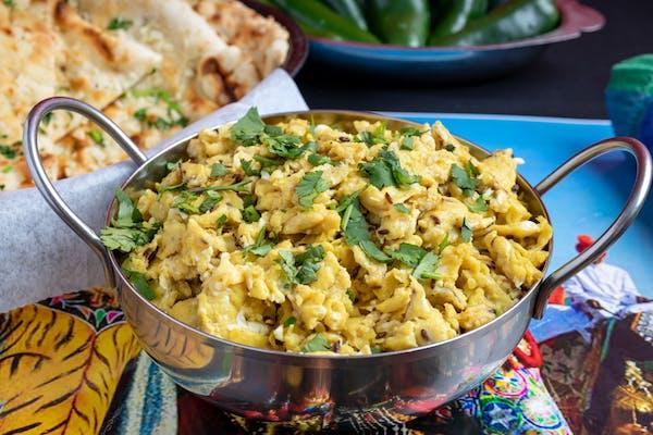 Scrambled Egg Bhurji