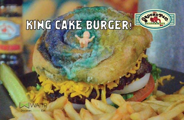 Burger - The King Cake Pat'i