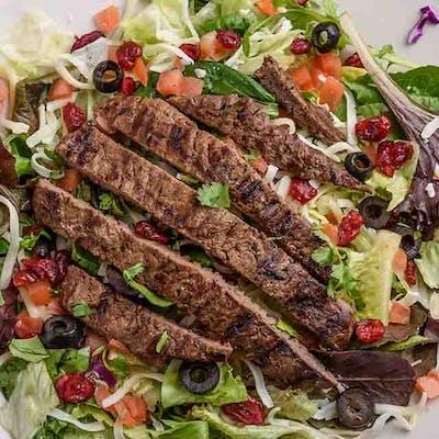 Sirloin Steaks Swiss Salad