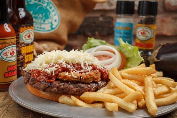 Burger - Pat'i Parmesan