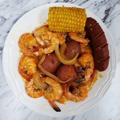 Boiled Shrimp Special