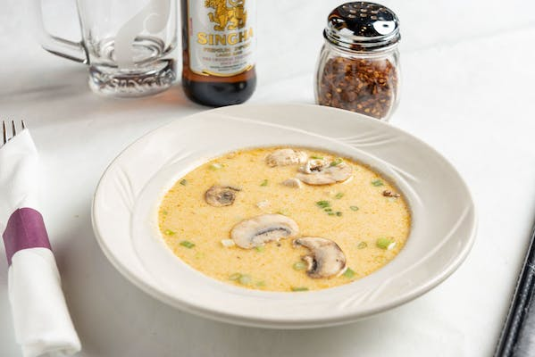 "Tom Kha ""Spicy Coconut Soup"""