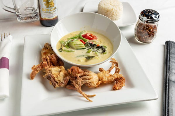 Soft-Shell Crab with Green Curry