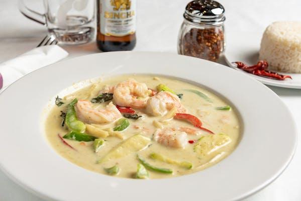 Shrimp Green Curry