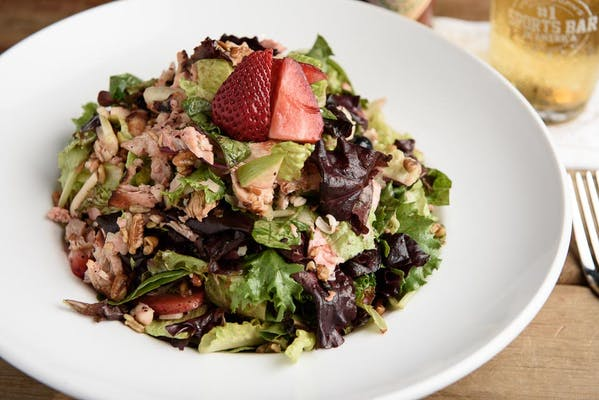 Chicken Berry Pecan Salad