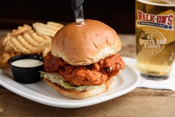 Fried Buffalo Chicken Sandwich