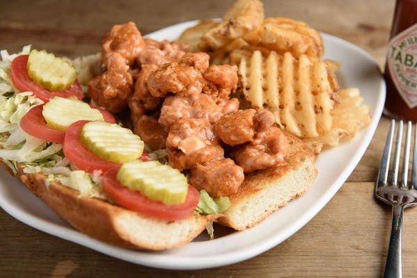Boom Boom Shrimp Poboy