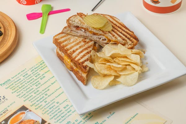 Turkey Bacon Melt Panini