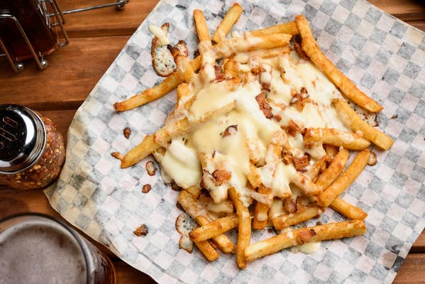 Cheesy Fries with Bacon