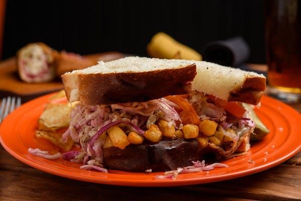 Pittsburgh-Style Sandwich