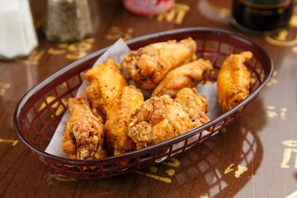 (5.) Plain Chicken Wings