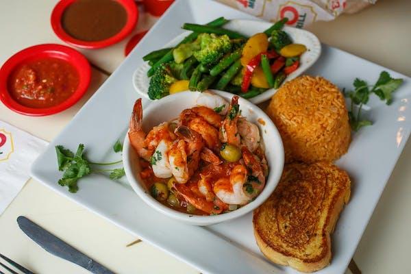 106. Shrimp a la Veracruzana