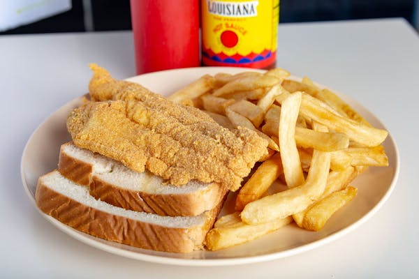 Catfish Fillet & Fries