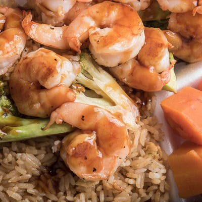Dinner Shrimp Hibachi