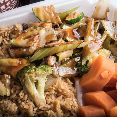 Lunch Vegetable Hibachi