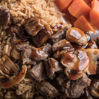 Lunch Steak Hibachi