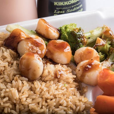 Lunch Scallop Hibachi