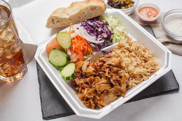 Chicken Doner Plate
