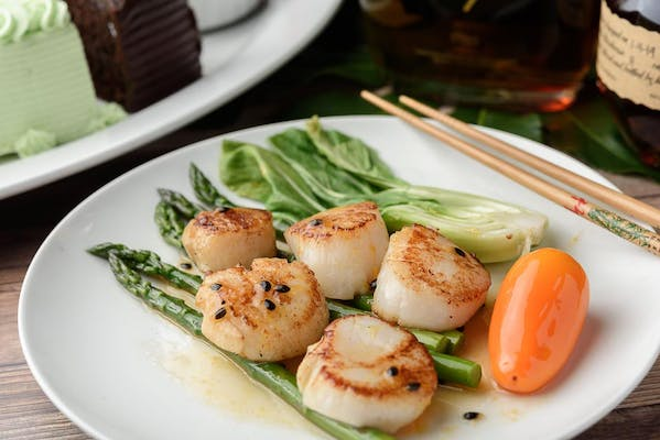 Passion Fruit Scallops